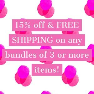 Discounts & Free Shipping on Bundles!